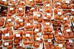 pomidory zapakowanych zdjęcie stock