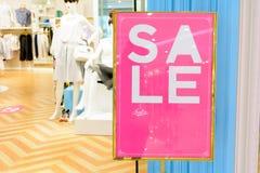 Pomija sprzedaż w sklepie Zdjęcie Stock