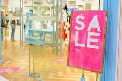 Pomija sprzedaż w sklepie Obraz Royalty Free