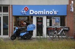 POMINOS PIZZA. Copenhagen /Denmark - 30 june. 2017. Domino`s pizza resataurant . Photo.Francis Joseph Dean/Deanpictures stock photography
