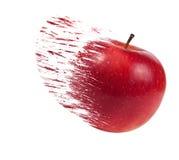 Pomme éclaboussée photos libres de droits