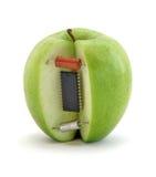 Pomme électronique Images stock