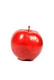 Pomme étiquetée organique Photo stock