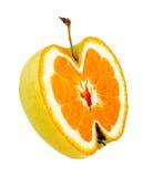 Pomme étrange Photos libres de droits