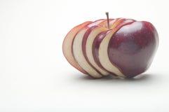 Pomme coupée en tranches Image libre de droits