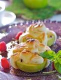 Pomme cuite au four Photo stock