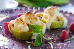 Pomme cuite au four Images stock