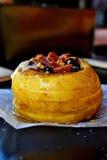 Pomme cuite au four photo libre de droits