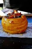 Pomme cuite au four image libre de droits