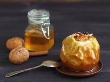 Pomme cuite au four Image stock