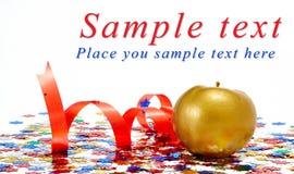 Pomme d'or Photo libre de droits