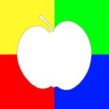 Pomme d'art Photos libres de droits