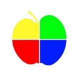 Pomme d'art Photographie stock libre de droits