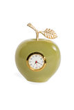 Pomme d'horloge d'onyx Photos stock