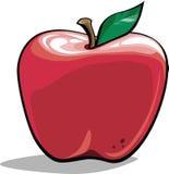 Pomme de dessin animé Images libres de droits