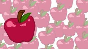 Pomme de famille Photo stock