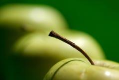 Pomme de groupe Photographie stock