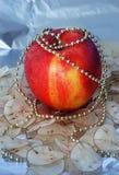 Pomme de Noël Photographie stock