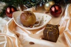 Pomme de Noël Image libre de droits