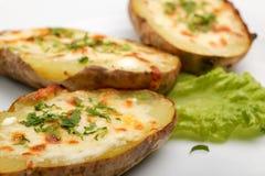 Pomme de terre cuite au four Images stock