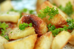 Pomme de terre cuite au four Images libres de droits