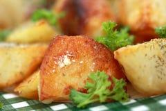 Pomme de terre cuite au four Photos stock