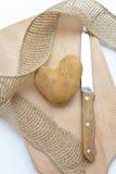 Pomme de terre d'amour Photographie stock