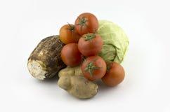 Pomme de terre de chou de tomate de tomates Image libre de droits