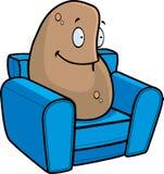 Pomme de terre de divan Images stock