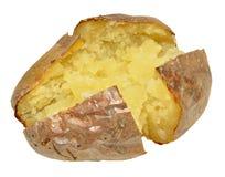 Pomme de terre en robe de chambre cuite au four Images stock