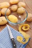 Pomme de terre enlevée Photo libre de droits