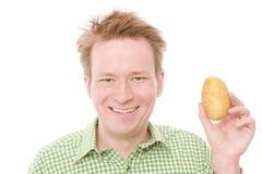 Pomme de terre heureuse photo libre de droits