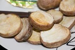 Pomme de terre rôtie de plat photos stock
