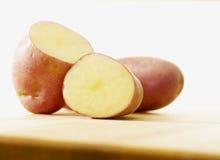 Pomme de terre rouge Images stock
