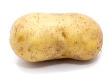Pomme de terre sur le blanc photo libre de droits