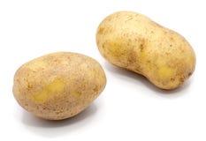 Pomme de terre sur le blanc image stock