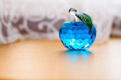 Pomme en verre. Image libre de droits