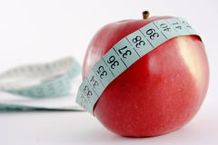Pomme entière photographie stock