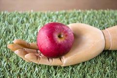 Pomme fraîche à disposition photo libre de droits
