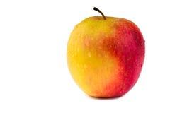 Pomme fraîche d'isolement sur le blanc photographie stock