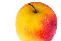 Pomme fraîche d'isolement sur le blanc Images libres de droits