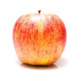Pomme fraîche mûre d'isolement sur un fond blanc Photo stock