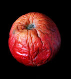 Pomme gâtée Photos libres de droits