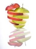 Pomme mélangée Images stock
