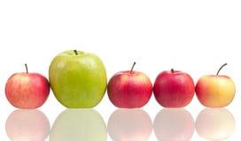 Pomme mûre Photos stock