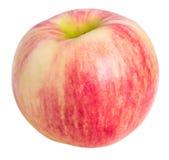 Pomme rayée rose Photo stock