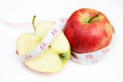 Pomme rouge Photo stock
