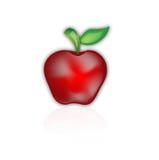 Pomme rouge illustration libre de droits