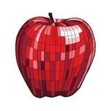 Pomme rouge illustration stock