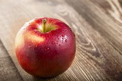 Pomme rouge Photographie stock